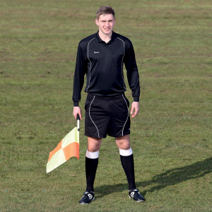 Preicison Long Sleeve Referee's Shirt and Shorts
