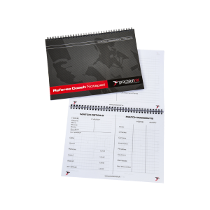 Precision Pro Referee's Coach Notepad - A5