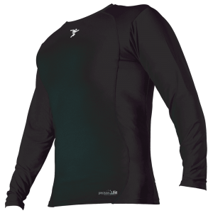 Precision Longsleeve Crew Neck Baselayer - Black